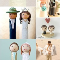 39 Unique & Funny Wedding Cake Toppers
