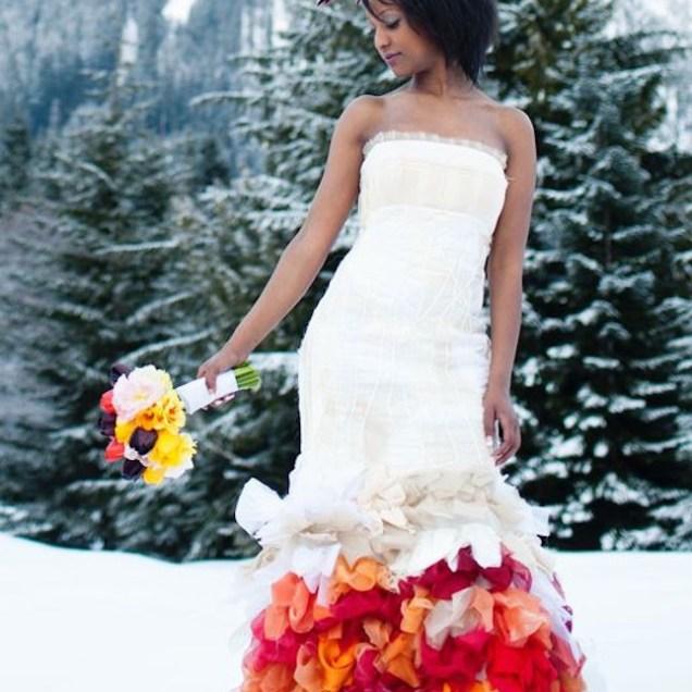 50 Colorful Wedding Dresses Non