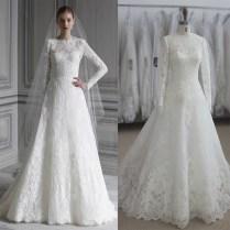 Aliexpress Com Buy Long Sleeve Zuhair Murad Wedding Dress Muslim
