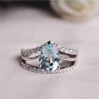 Promise Engagement Wedding Ring Set