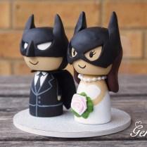 Batman Wedding Cake Toppers Custom Superhero Batman Wedding Cake