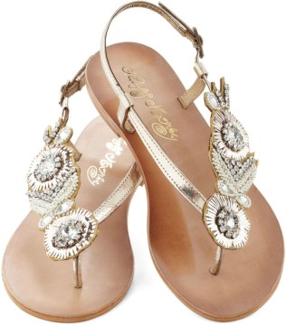 Beach Sandals Jeweled Sandals For Beach Wedding