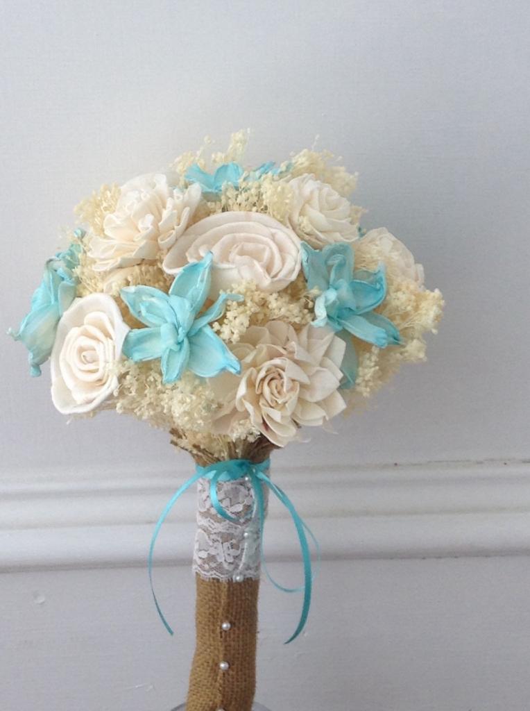 Beach Theme Wedding Flower Bouquets