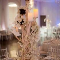Beach Themed Wedding Table Decoration Ideas