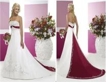 Beaded Bridal Gowns With Color