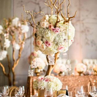 Best Tree Branch Centerpieces For Wedding Manzanita Tree Wedding