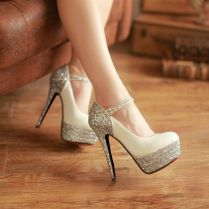 Bling Out Wedding Shoes Bling Shoes Heels Studded Suede Wedding