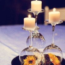 Budget Wedding Centerpiece Idea