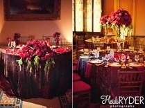Burgundy Wedding Centerpieces Ideas Burgundy And White Wedding
