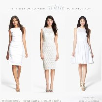 Can I Wear White To A Wedding