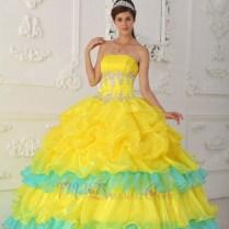 Canary Yellow Wedding Dress – Dress Online Uk