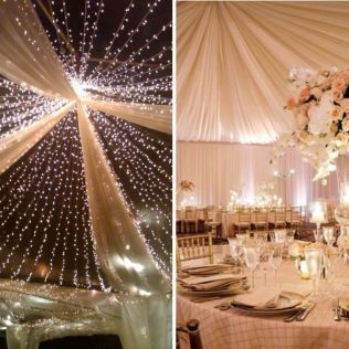 Ceiling Wedding Decorations