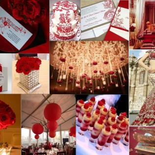 Collection Red And Gold Wedding Theme Pictures