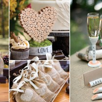 Collection Rustic Wedding Favors Pictures