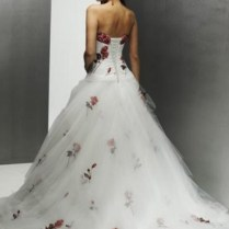Collection Wedding Dresses With Flowers Pictures