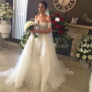 Compare Prices On Wedding Dress Detachable Train