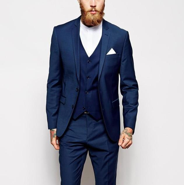 Compare Prices On Wedding Man Blue Suits