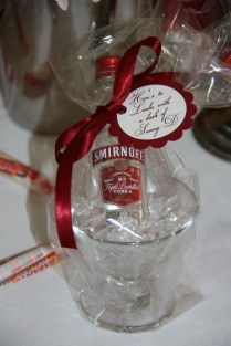 Cool Champagne 50th Birthday Party Favors With Custom Ribbon Find