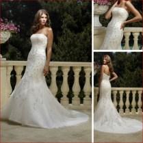 Corset Wedding Dresses A Line Crystalsflowersruchedruffles Zipper