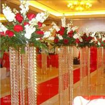Crystal Pillar For Wedding Walkway,wedding Decoration Crystal