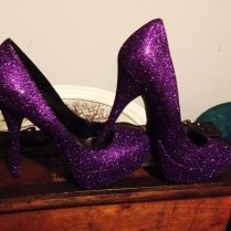 Dark Purple Wedding Shoes Uk