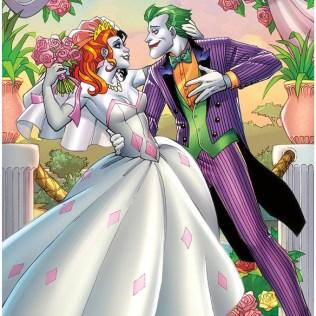 Dc Comics The Joker & Harley Quinn Wedding Poster
