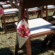 Decorate Wedding Aisle Chairs