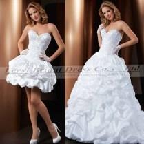 Detachable Wedding Dress Skirt