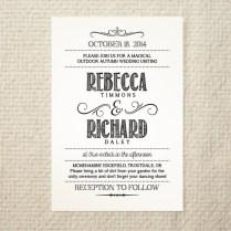 Diy Printable Wedding Invitations Templates Diy Wedding Invitation