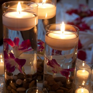 Elegant Candle Centerpieces Weddings