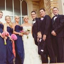 Elegant Pink & Navy Wedding {part 2}