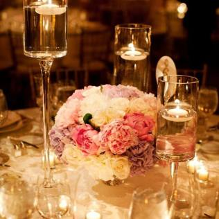 Fascinating Wedding Arrangements With Candles 1000 Images About