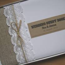 Free Shipping Personalized Wedding Guestbook Alternatives Wood