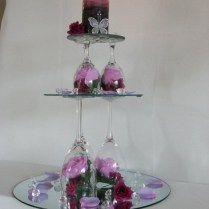 High Tea Party Hire High Tea Table Brisbane Mirror Centerpieces