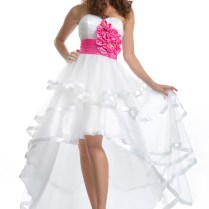 Hot Pink And White Wedding Dresses Wedding Dress