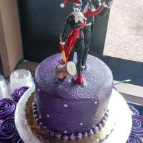 Joker And Harley Quinn Wedding Cake Topper