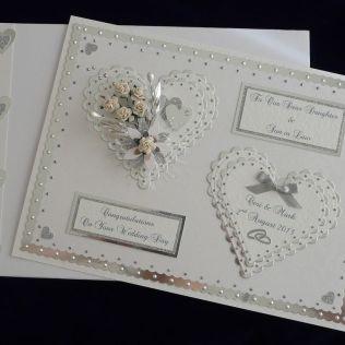 Large Wedding Day Card Box Son Daughter Sister Etc Handmade