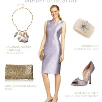 Lavender Dress For Mother Of The Bride