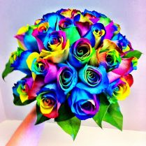 Love Colour This Is The Perfect Wedding Bouquet For You Featuring