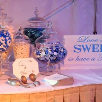 Love Is Sweet So Have A Treat Sign Includes A Base Wedding Sign