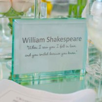 Love Quotes For Wedding Tables