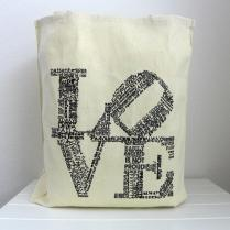 Love Tote Wedding Welcome Bags Wedding Favor Bags Love Never Fails