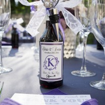 Lovely Purple And Gray Diy Wedding {peterson Photography}