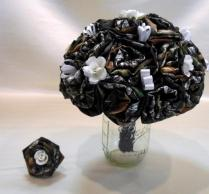 Mossy Oak Camo, Wedding Bouquet, Bridal Bouquet, Keepsake Bouquet