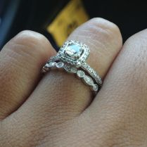 My Vintage Inspired Wedding Band Has Arrived! Wedding Ring