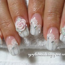 Nail Art For Wedding Day