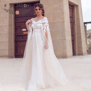 Online Buy Wholesale Wedding Dress Cape From China Wedding Dress