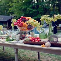 Outside Wedding Reception Food Ideas