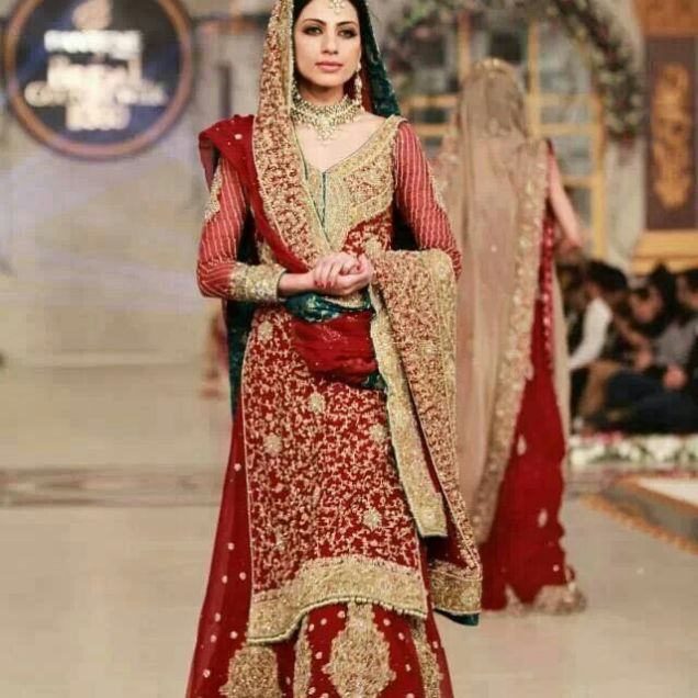 Wedding Gift For Pakistani Bride : Dress For Pakistani Wedding