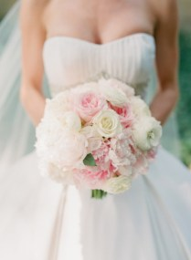 Pale Pink And White Wedding Flowers